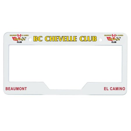 Style 2400 License Plate Frame