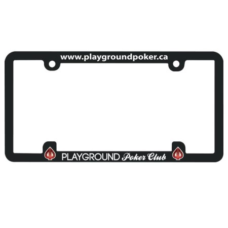 Style 300 License Plate Frame