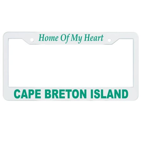 Style 600-License Plate Frame
