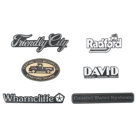 700-01 Nameplates