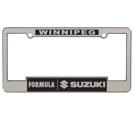 2400C/R Chrome Raised Letter Frame