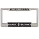 2400C/R Chrome Raised Letter Frame