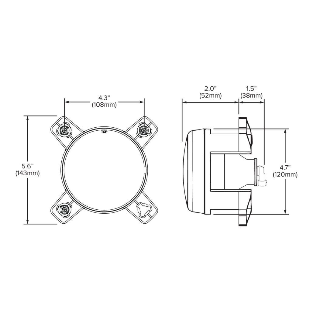 120mm High Beam Halogen Headlight - Hamsar - A Methode ... on