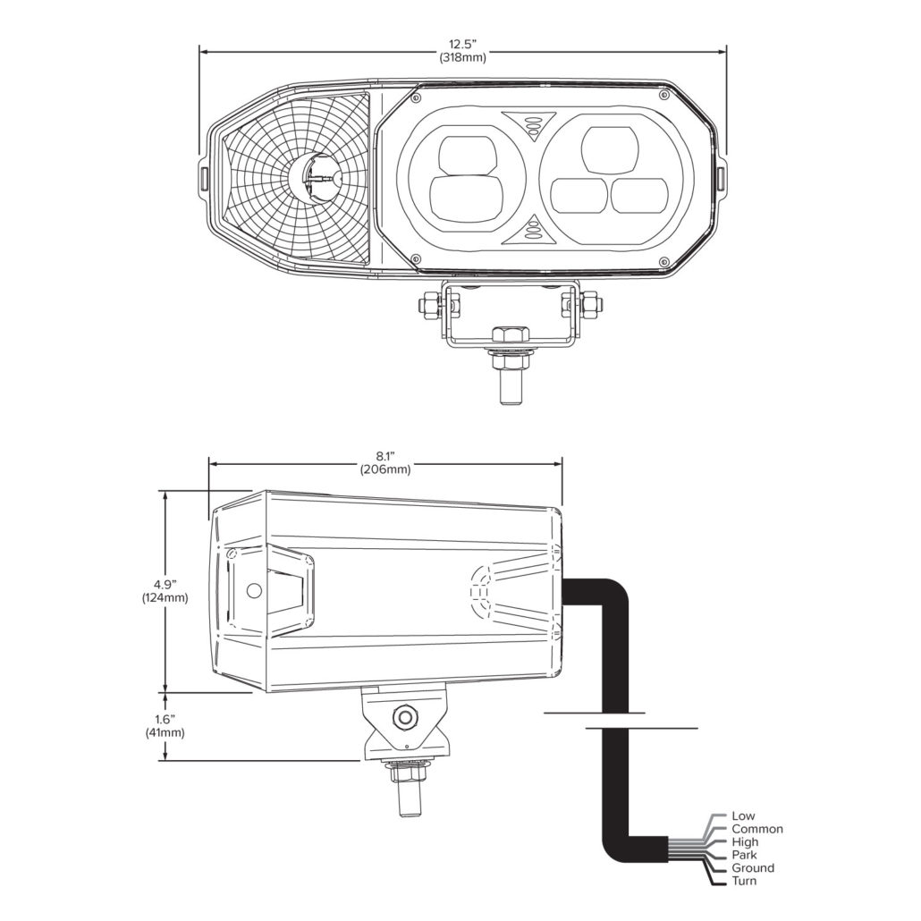 Plow Lights Meyer Snow Plow Wiring Diagram For Headlights from hamsar.com