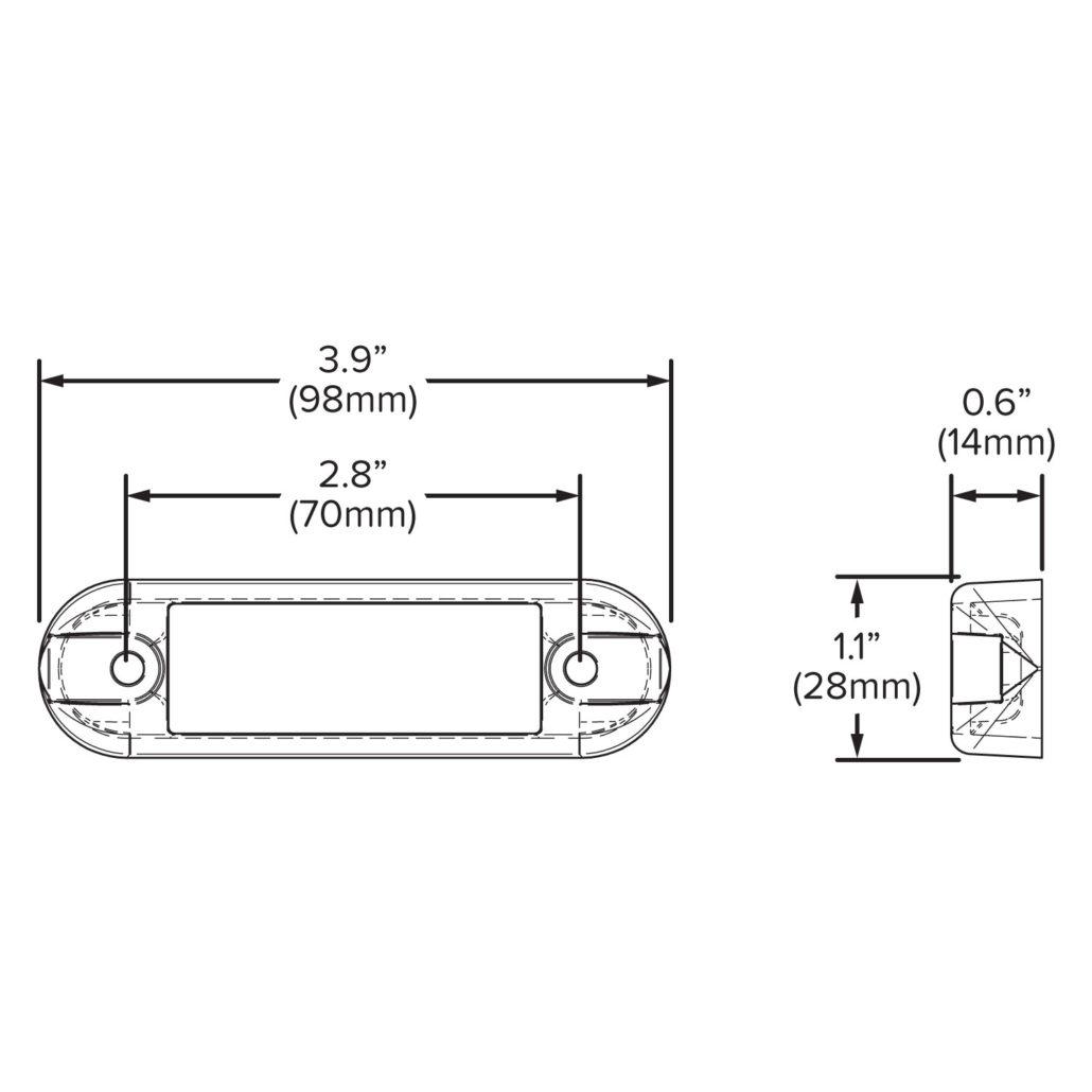 LED License Plate Light - Hamsar - A Methode Electronics Company on