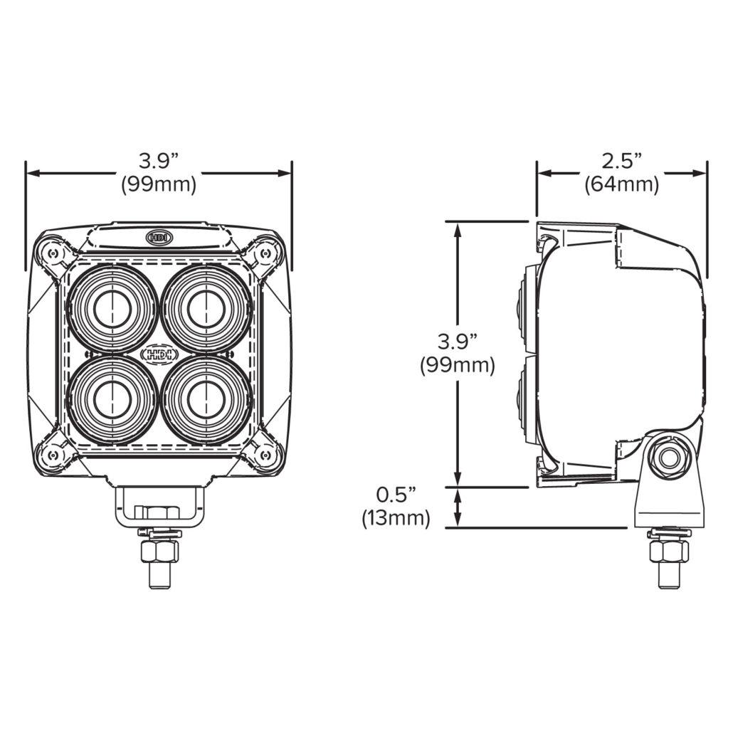XWL-812 Red LED Safety Light - Hamsar - A Methode ... on