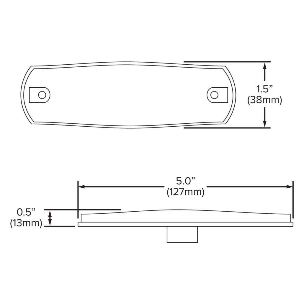 LED Marker Light | Amber - Hamsar - A Methode Electronics ... on